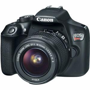USA-Seller-Canon-EOS-Rebel-T6-Digital-DSLR-Camera-Kit-with-18-55-EF-S-Lens