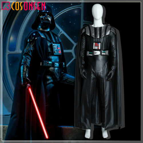 Star Wars Darth Vader Cosplay Costume Deluxe Leather Outfit