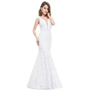 Ever-pretty US Long Plus Size Formal Evening Gowns Mermaid Cocktail Dresses 8838