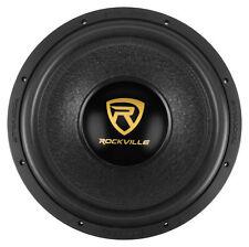 """Rockville 10"""""""" 2000w Car Audio Subwoofer Dual 2-ohm Sub CEA Compliant W10k6d2 V2"""