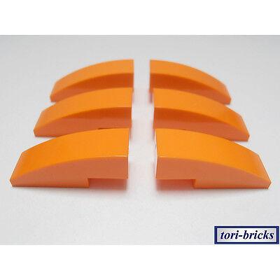 Lego Dachstein Slope 30 1x1x2//3 orange 15 Stück »NEU« # 54200