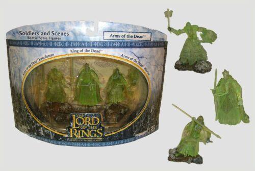 Le Seigneur des Anneaux L/'Armée des morts des armées de Middle Earth Lord of the Rings Comme neuf in box ou loose