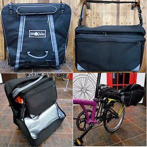 Transport Bag Set For Brompton Bike Bro Bike Bt Hard Bag