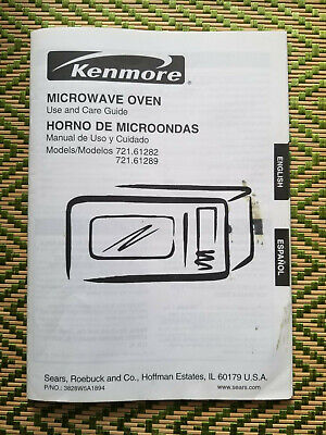 Kenmore Microwave Oven Owner S Manual