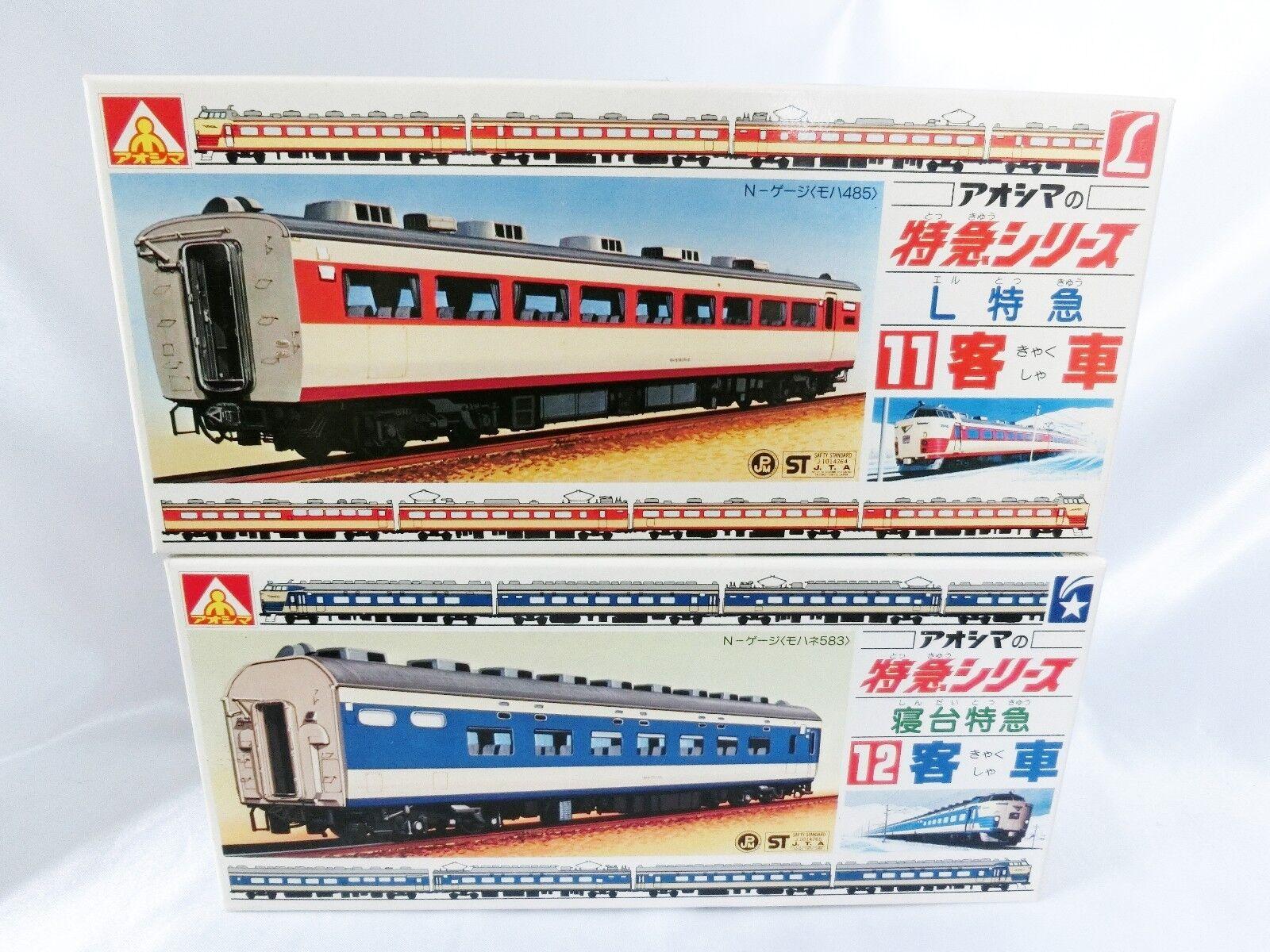 1/150 Aoshima of express series No.11 L express passenger 12 sleeping berths F/S