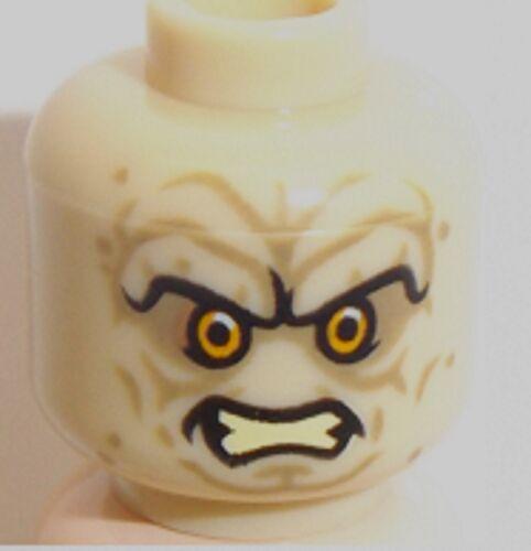 Lego Emperor Palpatine Dual Sided Head x 1 Tan Star Wars Head for Minifigure