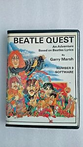 Beatle-Quest-Commodore-64-Classic-Game-With-Extra-Signed-Inlay