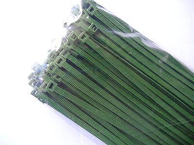 Kabelbinder farbig in Industriequalität 2,6x100 mm in Neongelb 200 Stück