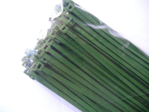 Kabelbinder GRÜN 500 Stück in Industriequalität 2,6x100 mm