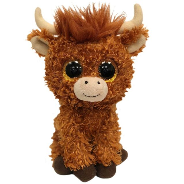 Ty Beanie Babies Boos 36659 Angus The Scottish Highland Cow Boo for ... 045c77c717af