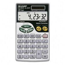 Sharp EL-344R Metric Conversion Calculator 344G