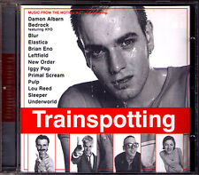 TRAINSPOTTING Soundtrack CD Iggy Pop Brian Eno Primal Scream Blur Pulp Lou Reed