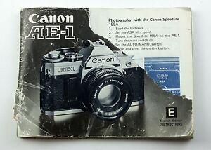 Foto en camera Handleidingen en gidsen GENUINE ORIGINAL CANON ...