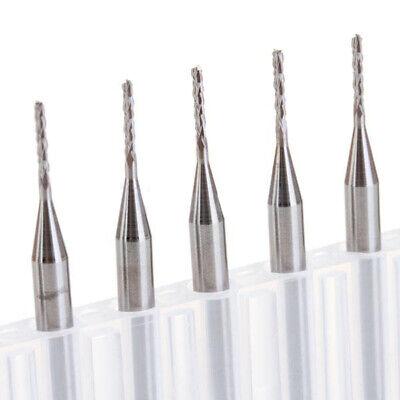 10 Stk Schaftfräser Holzbohrer CNC PCB Fräser Bohrer VHM Drill Bits 0.1-1.4mm