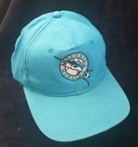 Image is loading Vintage-Florida-Marlins-Snapback-Trucker-Baseball-Hat-Cap- 0e1753a869a4