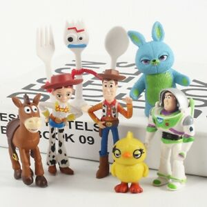 Toy-Story-Buzz-Lightyear-Woody-7-X-Action-Toys-Mini-Figures-Models-Collectibles