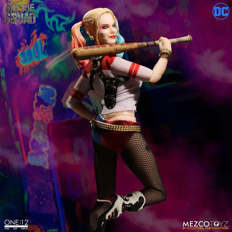 descuento de bajo precio Uno  12 DC DC DC suicidio colectivo escuadrón Harley Quinn Figura Mezco 1 12 6  en existencias  Mercancía de alta calidad y servicio conveniente y honesto.