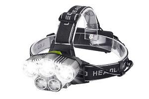 Lampada-da-testa-5-LED-ricaricabile-USB-torcia-frontale-impermeabile-BL-K85