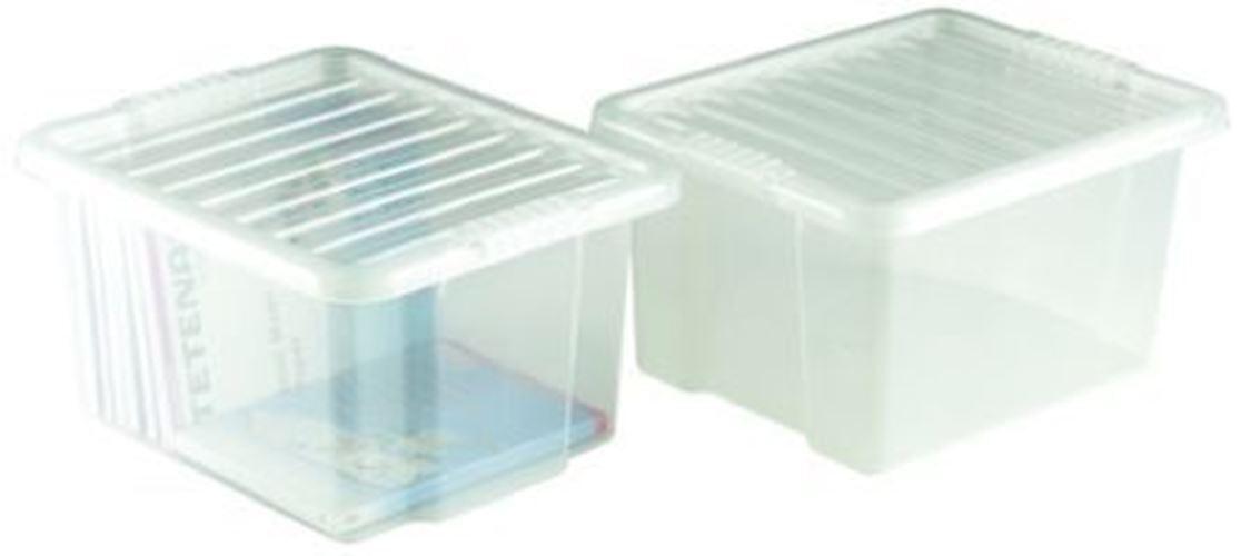 Rs pro Transparent Pp Aufbewahrungs Behälter Tragbar, 260mm X 395mm