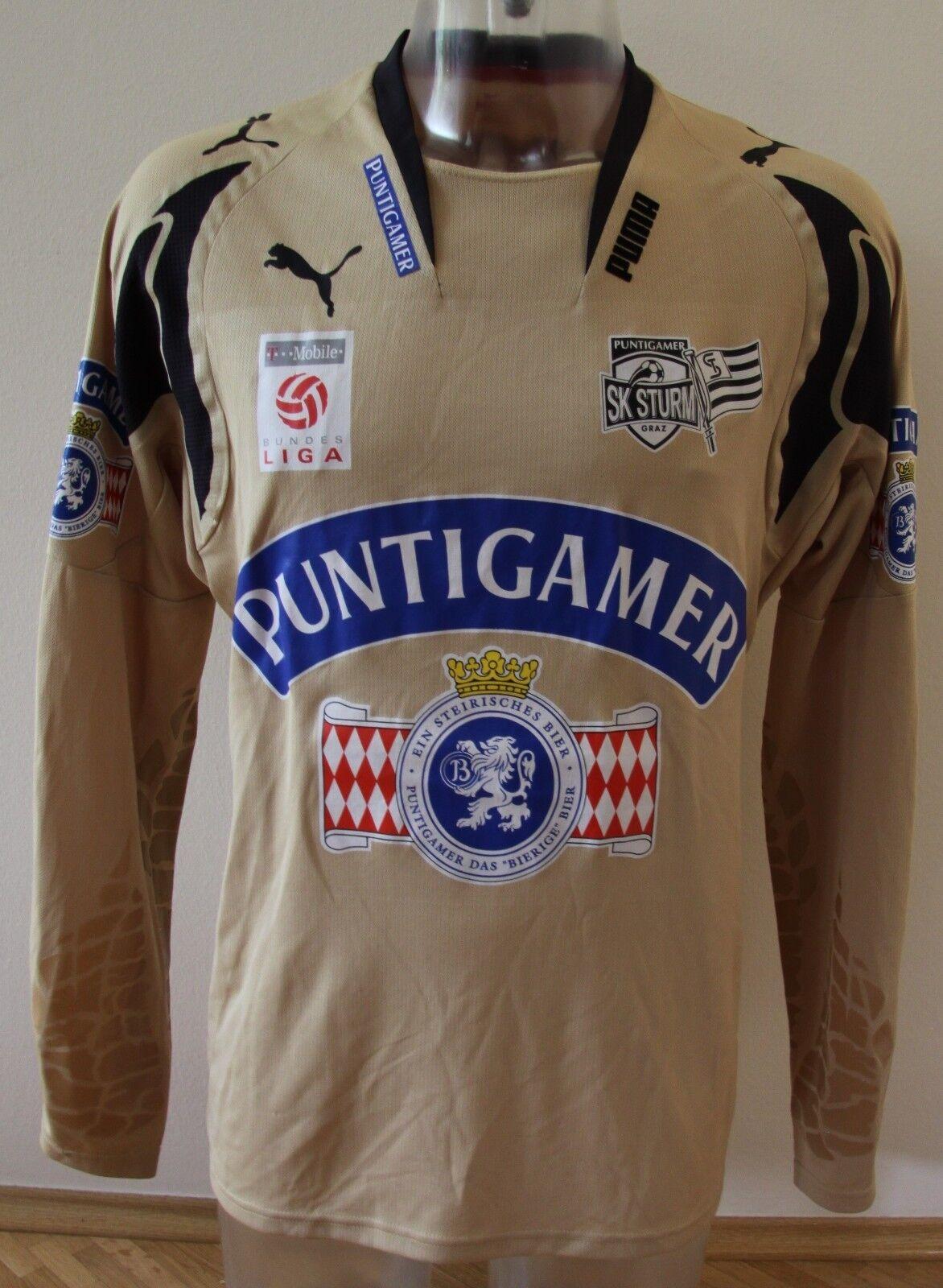 SK Sturm Graz Graz Graz matchworn Trikot Christian Gratzei Saison 2007 2008 8a43e1