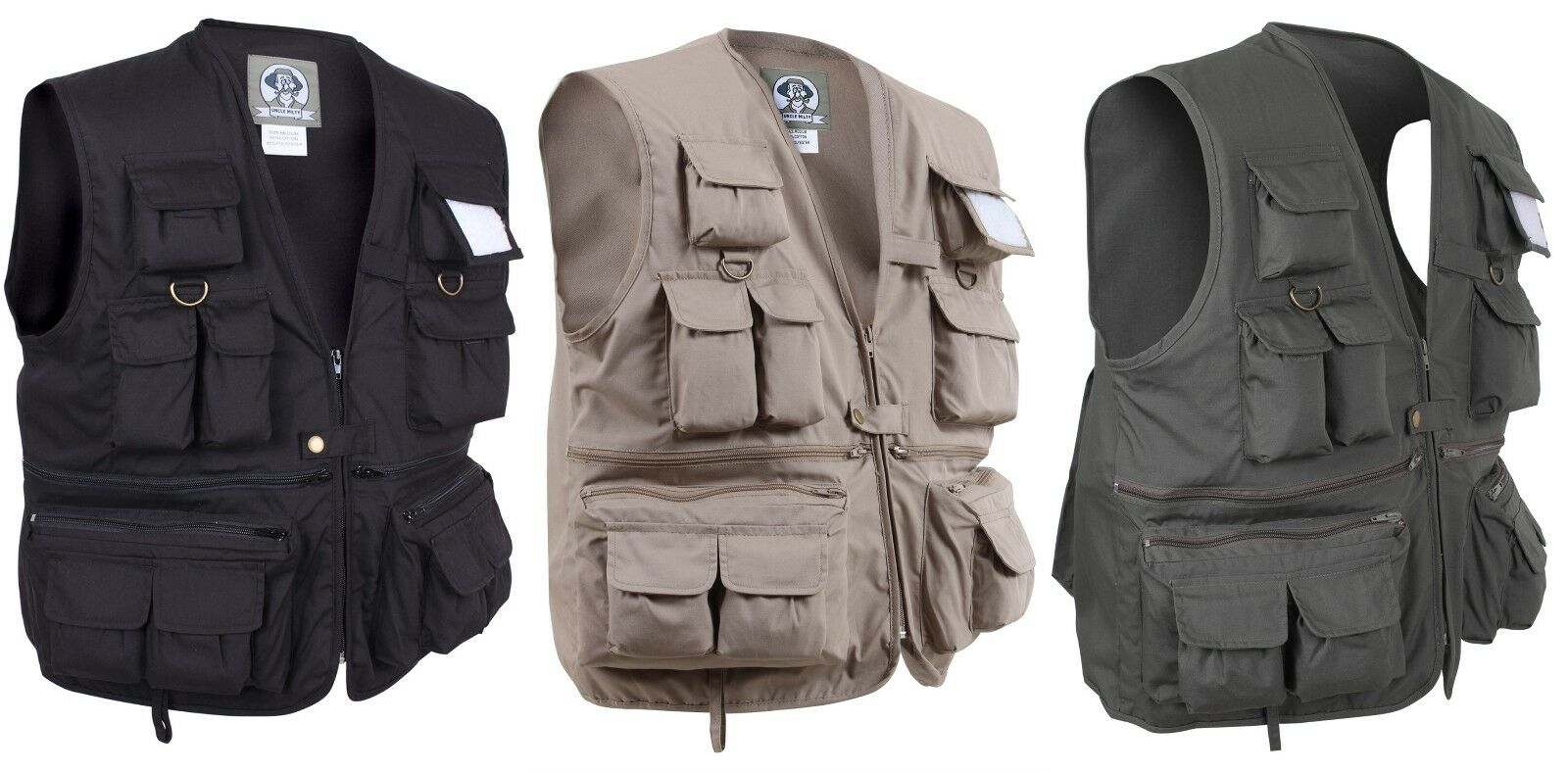 Ultimate Travel Vest Fishing Hunting Camping Uncle Milty Rothco 7546