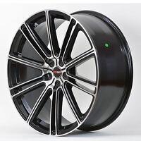 4 Gwg Wheels 20 Inch Black Machined Flow Rims Fits Et20 Ford Ranger 2wd 2002-11