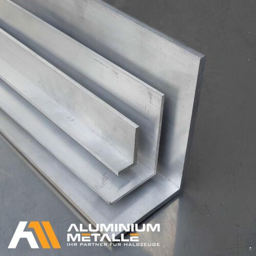 Aluminium Winkel 50x30x4mm Länge wählbar Alu AlMgSi05 Aluwinkel Winkelprofil