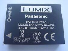 Batterie D'ORIGINE Panasonic DMW-BCG10E 3.6V 895mAh 3.3Wh GENUINE NEW ACCU