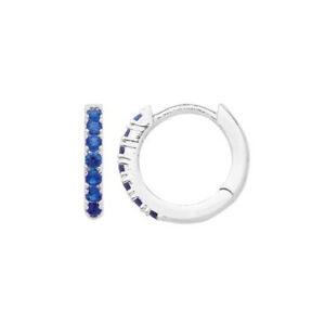 843cc9b957 Image is loading Estella-Bartlett-Silver-Plated-Huggie-Hoop-Earrings-in-