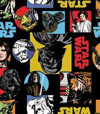 Star Wars Cartoon Characters 58-in Fleece Fabric by the YARD