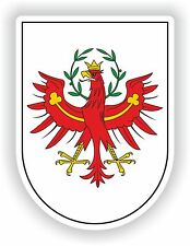 Tirol Tyrol Coat of Arms Sticker Austria Italy South sudtirol Helmet Door Guitar