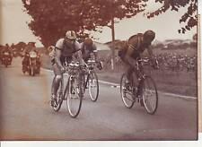 photo presse cyclisme ROLLAND BLOMME et MAGNI TOUR DE FRANCE 1950