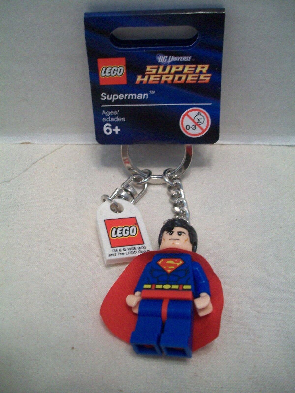 Lego Superman DC DC DC Universe Super Heroes Key Chain RHTF With Tag NIB 2012 5e5342