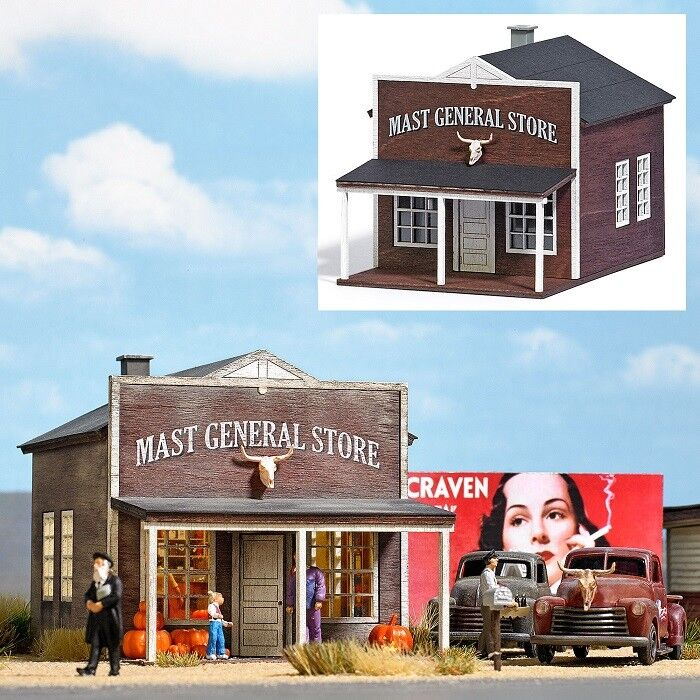 Busch 9725 - 1 87   H0 US Warenhaus   Mast General Store - Neu