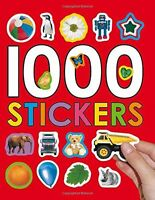 1000 Stickers By Roger Priddy, (paperback), Priddy Books , New, Free Shipping on sale