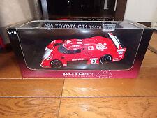 1/18 TOYOTA TS020 GT1 WINNER 1999 LeMANS KATAYAMA SUZUKI TSUCHIYA AUTOART 89988