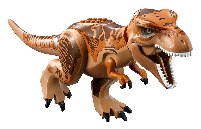 Lego Jurassic World 75918-Dino T-Rex Orange FONCé &  MARRON DOS FIGURINE-Nouveau  haute qualité générale