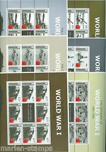 GIBRALTAR-CENTENARY-OF-WORLD-WAR-I-SHEET-SET-MINT-NEVER-HINGED