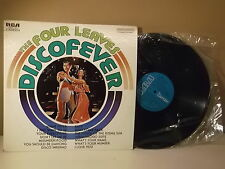 """The four leaves """" Discfever """" Night fever """" Easy"""" LP VG+ MEXICAN EDITON"""