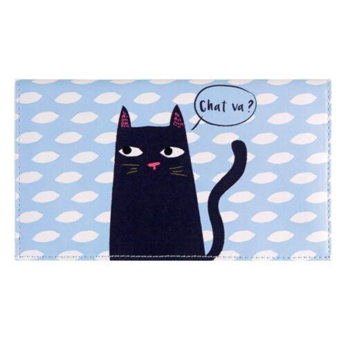 Derrière la porte Porte-chéquier PAMELA Black Cat