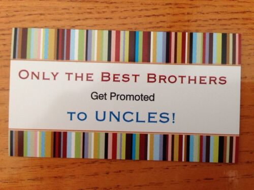 Pregnancy Announcement Magnet The Best Brothers Get Promoted To Uncles