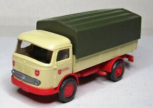 Wiking-1-87-mercedes-benz-LP-321-tablillas-camion-Michon-maltes-servicio-auxiliar