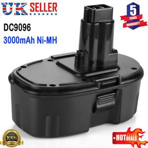 New 18V 3.0Ah DE9098 Battery For Cordless Drill DC9096 DE9095 DC725 DC608B UK