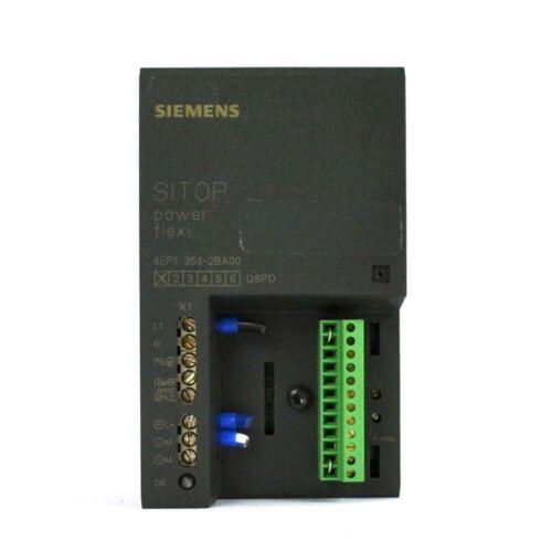 Siemens 6EP1 353-2BA00 SITOP Power Flex PCL Din Rail Control Power Supply