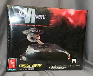 AMT-Ertl-Star-Trek-VI-Klingon-Cruiser-Unopened-8229-Model-Kit