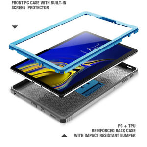 For-Samsung-Galaxy-Tab-S4-10-5-Case-Poetic-034-Shockproof-034-Cover-Revolution-Blue