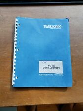 Tektronix Sc 502 Oscilloscope Plug In Tm 500 Instruction Manual 070 1878 01