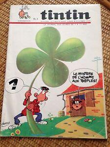 journal-tintin-france-956-1967-Herge-tintin-vol-714-pour-sydney-dan-cooper