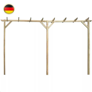 Holzgarten Pergola Rosenbogen Rankhilfe Spalier Holzbogen Torbogen Outdoor Holz