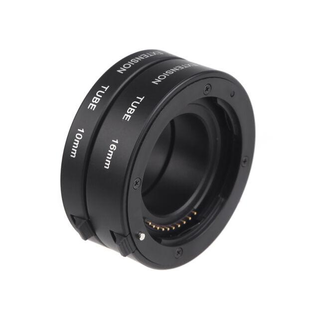 Auto Focus Macro Extension Tube Ring for Sony E-mout NEX NEX-6 A7R A3000 Black